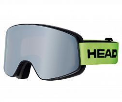 HEAD HORIZON RACE DH LIME+SPARELENS