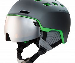 HEAD RADAR GREY GREEN
