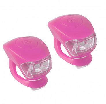 SVETLO MINI LED SILIKON M-WAVE ROZE
